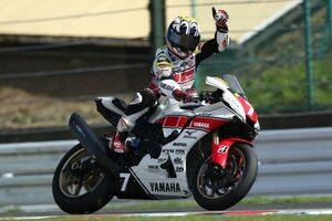 中須賀、負けなし6勝目でチャンピオンに王手。名越と日浦は初表彰台/全日本ロード第5戦MFJ-GP鈴鹿 JSB1000 レース1