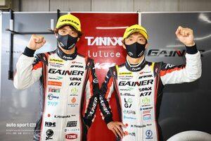 自身初ポール獲得の安田裕信「気温がここまで上がるとは僕たちも想定していなかった」【第4戦GT300予選会見】