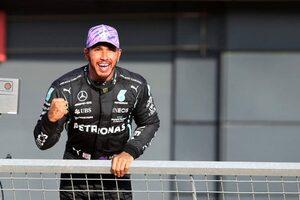 母国レースを迎えたハミルトンが意地の最速タイムを記録。角田裕毅は無念のQ1脱落【予選レポート/F1第10戦】