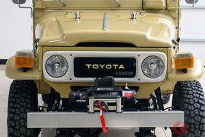 超激レアなトヨタ「ランクル」発見! 「HJ45 Troopy」の新車同等レストア仕様が600万円超え