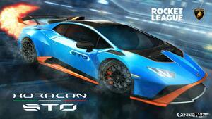ランボルギーニ ウラカン STO、カーレースとサッカーを組み合わせたゲーム「ロケットリーグ」に登場!