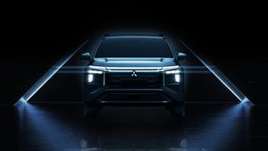 三菱自動車がSUVとしての力強い走りを追求した電気自動車「エアトレック」のデザインを公開