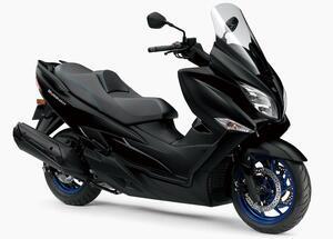 スズキ「バーグマン400 ABS」【1分で読める 2021年に新車で購入可能なバイク紹介】