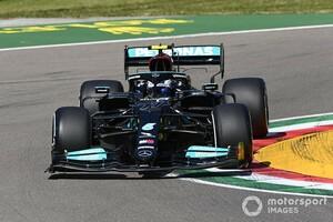 F1エミリア・ロマーニャFP1:ボッタス、ハミルトン、フェルスタッペンが僅差で続く。角田裕毅は周回重ねられず20番手