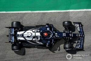 FP1で20番手に沈んだ角田裕毅、電気系のトラブル発生。トスト代表「FP2までにそれを解決したい」|F1エミリア・ロマーニャGP