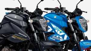 45万円以下の軽二輪スポーツ! スズキ「ジクサー250」新色は鮮やかな青と艶消し黒