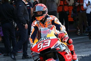 "【MotoGP】第3戦ポルトガルGPフリー走行1回目『""王の帰還""』:マルク・マルケス、復帰初走行で3番手タイム。トップはビニャーレス"