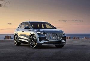 アウディが第3弾の電気自動車を発表。「Q4 e-tron」は500万円台スタートのコンパクトSUV