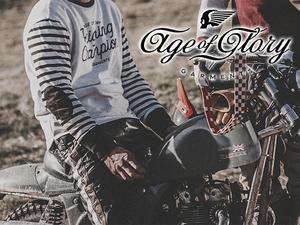 ジャペックスが70年代のテイストと機能性を融合させたバイクウェアブランド「Age of Glory」の取り扱いを開始!