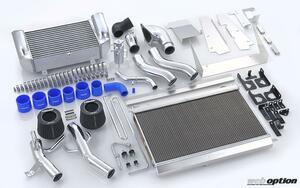 「トラストのFD3S用Vレイアウトキットがリニューアル!」ラジエター冷却効率を高めた次世代モデルが誕生
