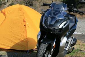 150ccのスクーター『ADV150』って快適に長距離を走れるの?【ホンダのバイクでキャンプしてみた!/Honda ADV150 前編】