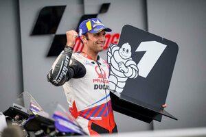 MotoGP第8戦ドイツGP:ドゥカティのザルコが今季初のポール獲得。マルク・マルケスは5番グリッドに並ぶ