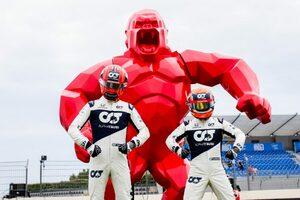 角田裕毅「マシンに対する自信を取り戻せている。予選Q3進出を目指す」アルファタウリ・ホンダ/F1第7戦金曜