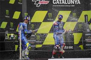 【W表彰台】すごいぞスズキ! もう誰もが認めるしかない。MotoGPでスズキは速い。本当に強い!【100%スズキ贔屓で楽しむバイクレース(6)/モトGP】