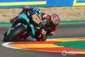 【MotoGP】ランク首位陥落も、クアルタラロにプレッシャーはなし……「このチームはファクトリーチームじゃないから」