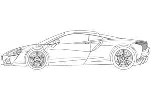 【特許画像入手】マクラーレンの次世代ハイブリッド車 デザインが明らかに
