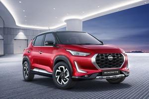 【タフ顔に新ロゴ】日産マグナイト 新小型SUV登場 全長4m以下 インドに焦点 2021年初頭~発売