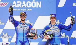 MotoGP参戦の「チームスズキエクスター」 ジョアン・ミル選手がトップ浮上 年間ポイント争いが過熱