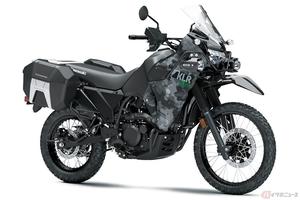 カワサキ「KLR650」2022年モデル登場 30年以上の歴史を持つKLR650最新モデルがその姿を公開