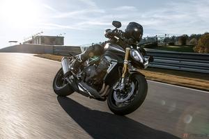 まったく別モノ!? トライアンフ新型「スピードトリプル1200RS」登場 水冷3気筒エンジン搭載 最高出力は180PSに