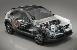 マツダMX-30 EV車のベンチマークはディーゼル!? バッテリー容量を「35.5kWh」に設定した理由
