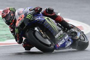 【MotoGP】クアルタラロ、雨のサンマリノに大苦戦「何故フィーリングが戻らないのか理解できない」