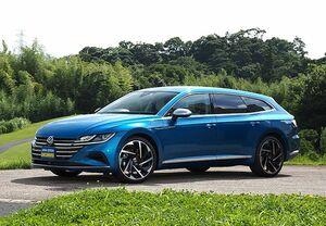 「最新モデル試乗」スタイルを楽しむワゴン。VWアルテオン・シューティングブレークが提案する美しい生活