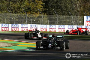 F1エミリア・ロマーニャ:90分1回の貴重なフリー走行はハミルトンがトップ。レッドブル・ホンダのフェルスタッペンは2番手、アルファタウリ勢も好調