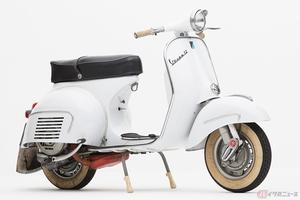 """イタリアンスクーターの老舗ブランド「ベスパ」 1960年代に登場した「Vespa 160 GS」は当時の""""俊足""""スクーターだった"""