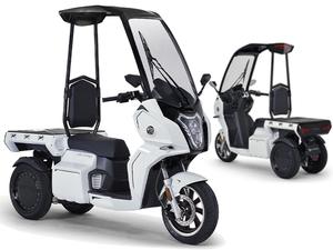 【アイディア】電動3輪バイクのニューモデル「AAカーゴ α8/β8」を発売