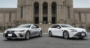 レクサスLSとトヨタMIRAIに高度運転支援技術の新機能「Advanced Drive」を搭載