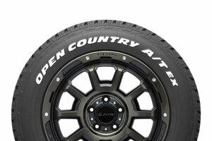 【やっぱりホワイトレター】オープンカントリーA/T EX発売へ トーヨーのSUV専用タイヤ