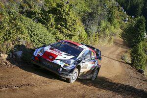 WRCギリシャ:トヨタの新鋭ロバンペラが2勝目。オジェはタイトル争いのリード拡大