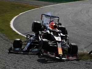 2021年F1第14戦、ハミルトンと接触も「外側からルイスをパスできるペースだった」とフェルスタッペン【イタリアGP】
