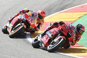 【MotoGP】マルケス、アラゴンで激闘のバニャイヤ称賛「弱点がなく、ドヴィツィオーゾのようだった」