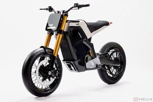 Dab Motors「CONCEPT-E」公開 シンプルなデザインを採用した原付二種の電動モタードモデル
