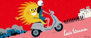 ベスパ「エレットリカ 45km/h|75km/h」【世界の電動2輪車図鑑 Vol.12】