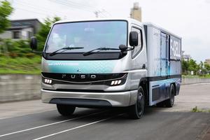 燃料電池トラックの先頭を突っ走る三菱ふそう「eキャンター F-CELL」を試す!