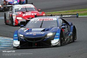 波乱の長距離戦を制してKEIHIN NSX-GTが今季4戦で2勝目。ランキングトップに浮上【第4戦もてぎGT500決勝】