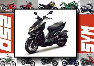 SYM「DRG BT」いま日本で買える最新250ccモデルはコレだ!【最新250cc大図鑑 Vol.040】-2020年版-