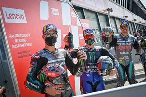 ポールシッターのビニャーレス、決勝レースは「結果は気にせずに楽しみたい」/MotoGP第7戦予選トップ3コメント