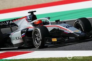 FIA F2ムジェロ:運も味方につけたマゼピンが乱戦となったレース1を制す。角田裕毅は展開にも恵まれずランキング6番手に転落