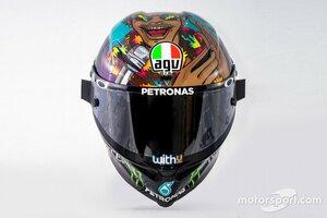"""【MotoGP】フランコ・モルビデリ、母国戦で反人種差別示す特別ヘルメットを用意。""""平等""""のメッセージ送る"""