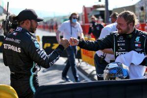 ボッタス、0.059秒差の予選2番手「黄旗にポール獲得のチャンスを奪われた」メルセデス【F1第9戦】