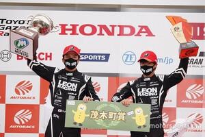 スーパーGT第4戦もてぎ|2018年GT300王者の65号車LEON PYRMID AMGが久々の優勝。「勝てない悔しさを払拭できた」と蒲生尚弥