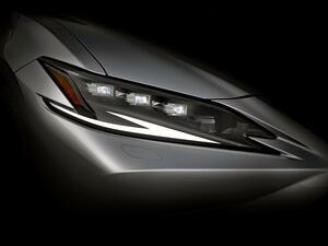 レクサスが新型「ES」と「LF-Z エレクトリファイド」を上海モーターショーに出展