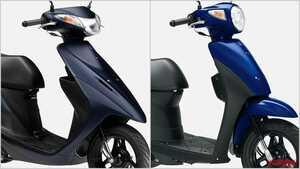 スズキ2021新車バイクラインナップ〈原付一種50ccスクータークラス〉アドレス/レッツ
