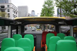 オープントップの開放感が素晴らしい!! はとバスの最新型2階建てバス エクリプス・ジェミニ3が登場!