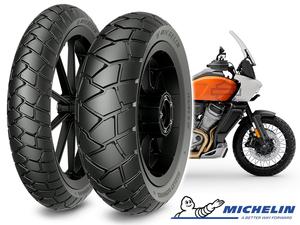 ミシュランの「SCORCHER ADVENTURE」がハーレー「Pan America(R)」の純正タイヤに採用