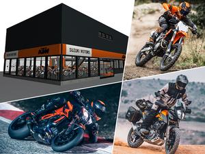 【KTM】5/2に正規ディーラー「SUZUKI MOTORS」が新規オープン